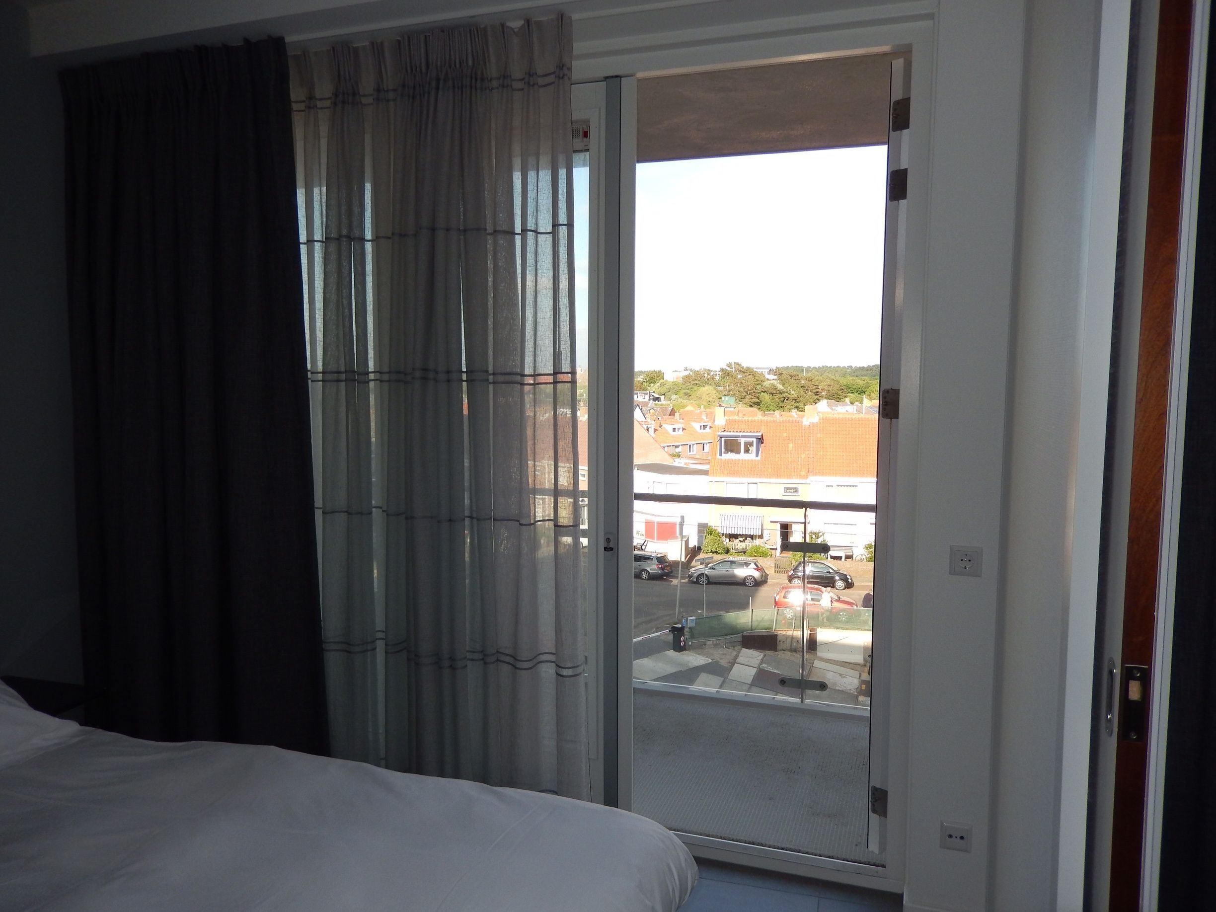 Suite slaapkamer aan zee in costa sur resort spa